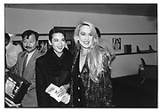 Michael Chow, Tina Chow and Jerry Hall. London 1984 approx. © Copyright Photograph by Dafydd Jones 66 Stockwell Park Rd. London SW9 0DA Tel 020 7733 0108 www.dafjones.com