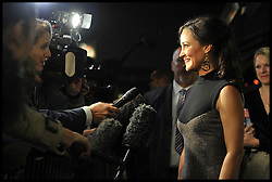 Pippa Middleton arrives for her book launch at Daunt books in Fulham, Thursday October 25, 2012 Photo Andrew Parsons / i-Images..