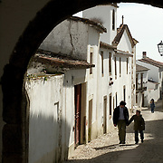 Narrow streets of the village of marvão