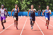 Middletown, New York - Section 9 Class A and Class B track and field championships on May 24, 2019.