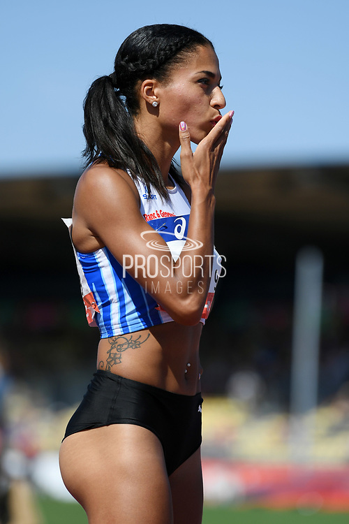 Floria Guei competes in women 400m during the Athletics French Championships 2018, in Albi, France, on July 8th, 2018 - Photo Philippe Millereau / KMSP / ProSportsImages / DPPI