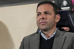 March 14, 2019 - Villarreal, Spain - Head coach of Villarreal CF Javi Calleja before UEFA Europa league match between Villarreal CF vs Zenit  at La Ceramica Stadium on March 14, 2019. (Credit Image: © Jose Miguel Fernandez/NurPhoto via ZUMA Press)