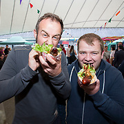 14.06.2018.             <br /> Limerick Food Group hosted the Urban Food Fest street food evening in the Milk Market on Thursday June 14th with a 'Summer Fiesta' theme in one big Limerick city summer party.<br /> <br /> Pictured at the event were, Vincent O'Hara and Laurence Stokes. Picture: Alan Place