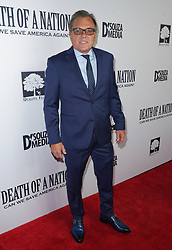 Aaron Brubaker at Death Of A Nation Los Angeles Premiere held at Regal L.A. Live: A Barco Innovation Center on July 31, 2018 in Los Angeles, California, United States (Photo by Jc Olivera for Jade Umbrella)