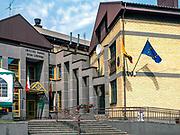 Dom Litewski i Konsulat Republiki Litewskiej w Sejnach, Polska<br /> Lithuanian House and Consulate of the Republic of Lithuania in Sejny, Poland