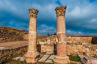 Byzantine Church, archaeological ruins, Amman Citadel, Amman, Jordan