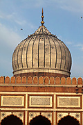 The Jama Masjid (The Friday Mosque), Old Delhi, India.