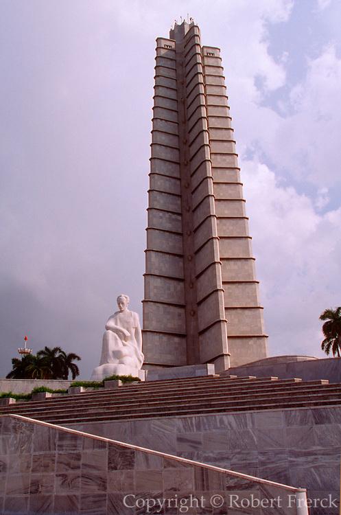 CUBA, CENTRO HAVANA Plaza de la Revolucion, Jose Marti