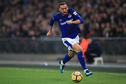 13 January 2018 -  Premier League - Tottenham Hotspur v Everton - Cenk Tosun of Everton - Photo: Marc Atkins/Offside