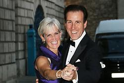 © Licensed to London News Pictures. 16/09/2014, UK. Judy Murray; Anton Du Beke,  Dot Com Children's Foundation Strictly Ballroom - charity dinner, The Mansion House, London UK, 16 September 2014. Photo credit : Richard Goldschmidt/Piqtured/LNP