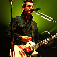 ST. PAUL, MN - MARCH 26: Theory of a Deadman lead singer Tyler Connolly performs during the 2011 Avalanche Tour at the Roy Wilkins Auditorium on Saturday, March 26, 2011 in St. Paul, Minnesota.  (Photo by Adam Bettcher/Getty Images) *** Local Caption *** Tyler Connolly
