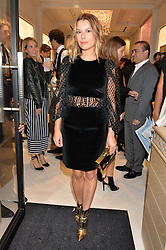 JULIET ANGUS at the opening of the Nirav Modi flagship London store at 31 Old Bond Street, London on 19th September 2016.