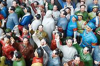 Chine, Shanghai, Nanshi l'ancienne ville chinoise, marche aux puces de Dongtai Lu, Mao souvenir. / China, Shanghai, Nanshi the old chinese city, antique market at Dongtai Lu, Mao souvenir