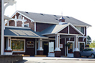 The Bandon Inn which is located on a bluff overlooking Old Town Bandon, Oregon.