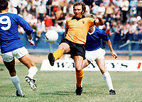 Mike Bailey (Wolves). Bristol Rovers v Wolverhampton Wanderers, 29/7/1972. Credit: Colorsport