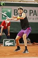 Alexander Zverev of Germany during the Roland-Garros 2021, Grand Slam tennis tournament on June 6, 2021 at Roland-Garros stadium in Paris, France - Photo Nicol Knightman / ProSportsImages / DPPI