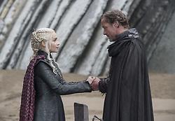 September 1, 2017 - Emilia Clarke, Iain Glen..'Game Of Thrones' (Season 7) TV Series - 2017 (Credit Image: © Hbo/Entertainment Pictures via ZUMA Press)