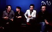 The Clash backstage at the London Lyceum 1981