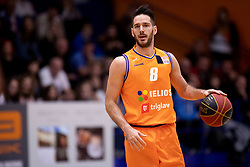 Miha Fon of KK Helios Suns during basketball match between KK Helios Suns and KK Rogaska in ABA League Second division, on October 31, 2018 in Sports hall Domzale, Domzale, Slovenia. Photo by Urban Urbanc / Sportida