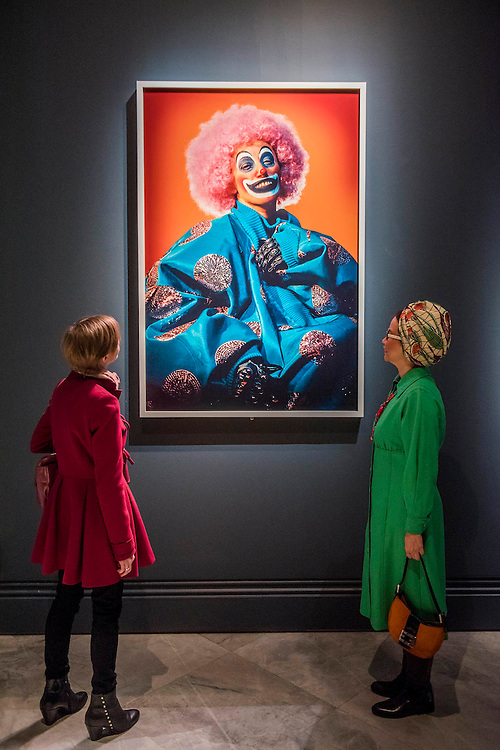 Then work of Cindy Sherman - Vogue I00, a Century of Style - a new exhibition at the National Portrait Gallery. It showcases a range of photography commissioned by the magazine since it was founded in 1916. It runs from 11 Feb to 22 May 2016.
