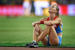 26-08-2015 CHN: IAAF World Championships Athletics day 5, Beijing<br /> Anzhelika Sidorova disappointed<br /> Photo by Ronald Hoogendoorn / Sportida