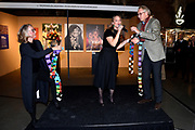Prinses Margarita de Bourbon de Parme bij de vijftiende editie van de Sieraad Art Fair in de Gashouder op het WesterGasterrein in Amsterdam<br /> <br /> Princess Margarita de Bourbon de Parme at the fifteenth edition of the Jewellery Art Fair in the Gasometer in Westergasterrein in Amsterdam<br /> <br /> Op de foto / On the photo:  Prinses Margarita de Bourbon de Parme opent de vijftiende editie van de Sieraad Art Fair <br /> <br /> <br /> Princess Margarita de Bourbon de Parme opens the fifteenth edition of the Jewellery Art Fair