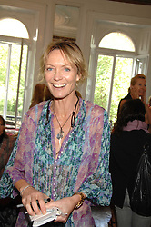 MELANIE METCALFE at a lunch in aid of African Solutions To African Problems held at Il Bottaccio, 9 Grosvenor Place, London on 20th May 2008.<br />