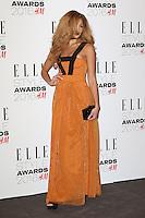 Jillian Hervey, ELLE Style Awards 2016, Millbank London UK, 23 February 2016, Photo by Richard Goldschmidt