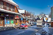 Ulica Nowotarska w Zakopanem