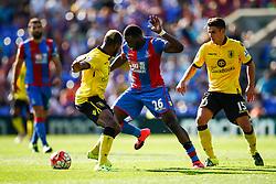 Bakary Sako of Crystal Palace in action - Mandatory byline: Jason Brown/JMP - 07966386802 - 22/08/2015 - FOOTBALL - London - Selhurst Park - Crystal Palace v Aston Villa - Barclays Premier League