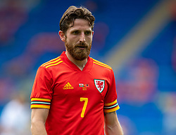 CARDIFF, WALES - Saturday, June 5, 2021: Wales' Joe Allen during an International Friendly between Wales and Albania at the Cardiff City Stadium in their game before the UEFA Euro 2020 tournament. (Pic by David Rawcliffe/Propaganda)