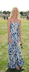 The COUNTESS OF MORNINGTON at the Cartier International Polo at Guards Polo Club, Windsor Great Park on 27th July 2008.<br /> <br /> NON EXCLUSIVE - WORLD RIGHTS