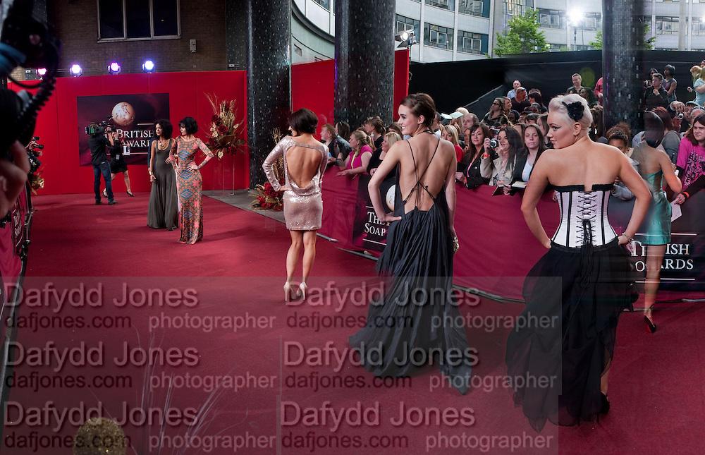 LOUI BATLEY; HOLLIE JAY BOWEN;  PERRY FENWICK ? , 2009 Soap Awards, BBC Television Centre. London. 9 May 2009.