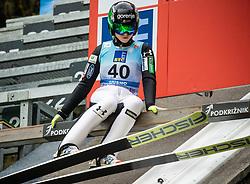 Spela Rogelj of Slovenia during Day 3 of World Cup Ski Jumping Ladies Ljubno 2019, on February 10, 2019 in Ljubno ob Savinji, Slovenia. Photo by Matic Ritonja / Sportida