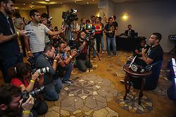 O campeão mundial do UFC, Fabricio Werdum durante o media day, em Porto Alegre FOTO: Jefferson Bernardes/ Agência Preview