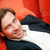 Nederland. amsterdam.6 januari 2003..Maarten Doorman, schrijver.