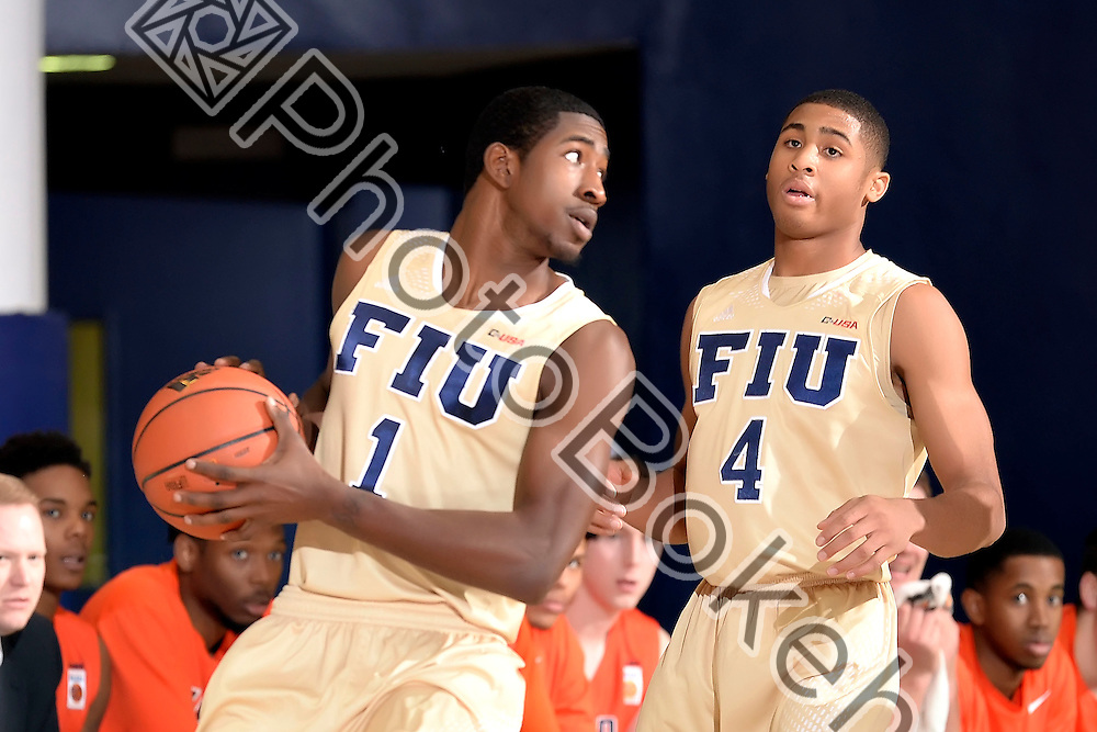 2016 February 11 - FIU's Jason Boswell (1). <br /> Florida International University fell to UTEP, 74-84, at FIU Arena, Miami, Florida. (Photo by: Alex J. Hernandez / photobokeh.com) This image is copyright by PhotoBokeh.com and may not be reproduced or retransmitted without express written consent of PhotoBokeh.com. ©2016 PhotoBokeh.com - All Rights Reserved