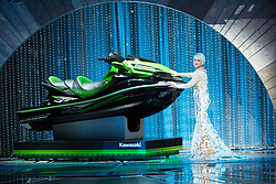 March 4, 2018 - Hollywood, California, U.S. - Helen Mirren poses with a jet ski during the live ABC Telecast of The 90th Oscars at the Dolby Theatre in Hollywood. (Credit Image: ? Aaron Poole/AMPAS via ZUMA Wire/ZUMAPRESS.com)