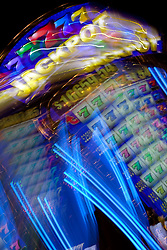 """""""Jackpot"""" - This slot machine was photographed in a casino in Reno, Nevada. The effect was obtained in camera by long exposure mixed with intentional camera movement."""