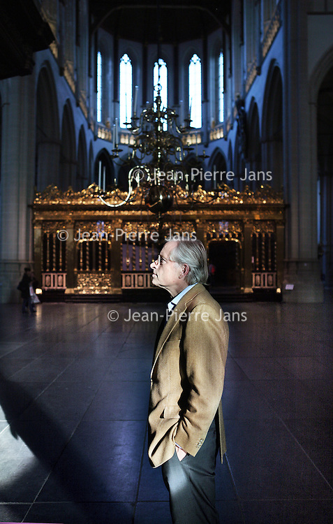Nederland, Amsterdam , 26 oktober 2011..Ernst Veen, directeur Nieuwekerk en de Hermitage neemt afscheid..Op de foto Ernst Veen in Nieuwekerk..Foto:Jean-Pierre Jans