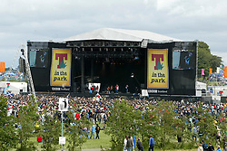 The main stage at T in the Park, July 11, 2004..©Michael Schofield..