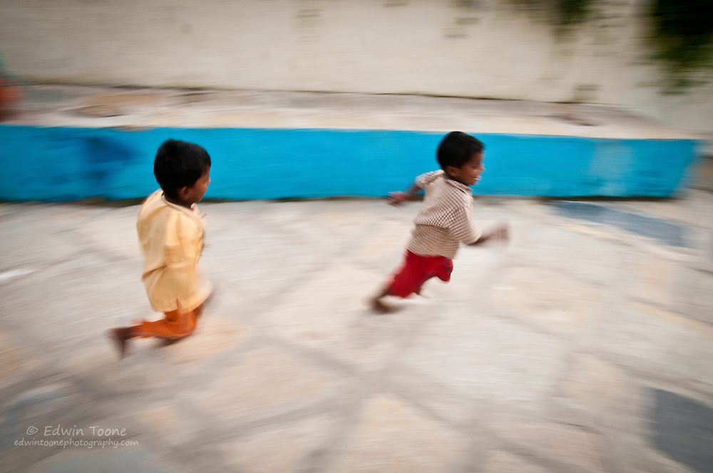 Running and playing are part of any good education.