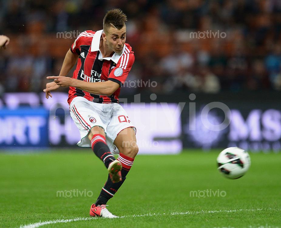 FUSSBALL INTERNATIONAL   SERIE A   SAISON 2012/2013    AC Mailand - Atalanta  15.09.2012 Stephan El Shaarawy (AC Mailand)