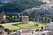 Temple of Olympian Zeus. Athens, Greece