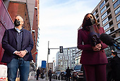 December 23, 2020 (DC): VP-Elect Kamala Harris And Husband Doug Emhoff Deliver Toys For Holidays