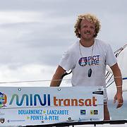 Arrivée de la Mini Transat 2015 à Pointe-à-Pitre