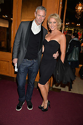 MARK FOSTER and NATALIE LOWE at the opening night of Cirque du Soleil's award-winning production of Quidam at the Royal Albert Hall, London on 7th January 2014.