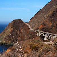 USA, California, Pacific Coast Highway 1.