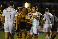 Ollie Lindsay-Hague of Harlequins looks on (c).European Rugby challenge cup match, Cardiff Blues v Harlequins at the BT Sport Cardiff Arms Park in Cardiff, South Wales onThursday 19th November 2015. pic by Andrew Orchard, Andrew Orchard sports photography.