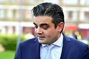 DENK-lijsttrekker Tunahan Kuzu brengt in Rotterdam zijn stem uit voor de Tweede Kamerverkiezingen<br /> <br /> DENK-lijsttrekker Tunahan Kuzu brings  in Rotterdam his vote for the parliamentary elections